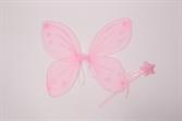 """Набор """"Фея"""" крылья и палочка розовые"""